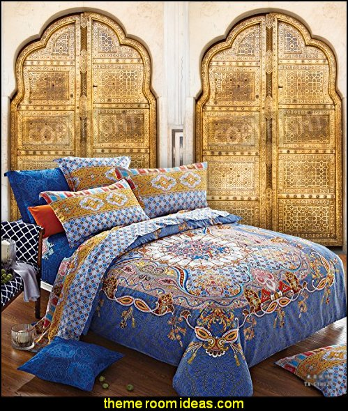 Moroccan Bedding Bohemian Bedding Sets Queen Egyptian Cotton Duvet Cover Set moroccan wall mural