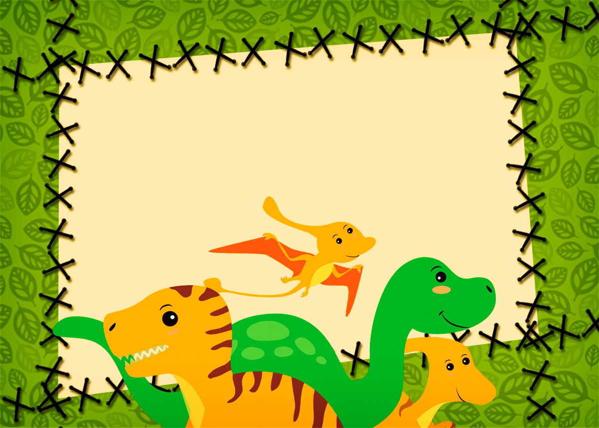 Tarjetas De Cumpleaños De Dinosaurios Para Imprimir Gratis Compartir Tarjeta