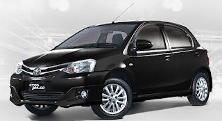 Harga Toyota Etios Valco Black Mica di Pontianak