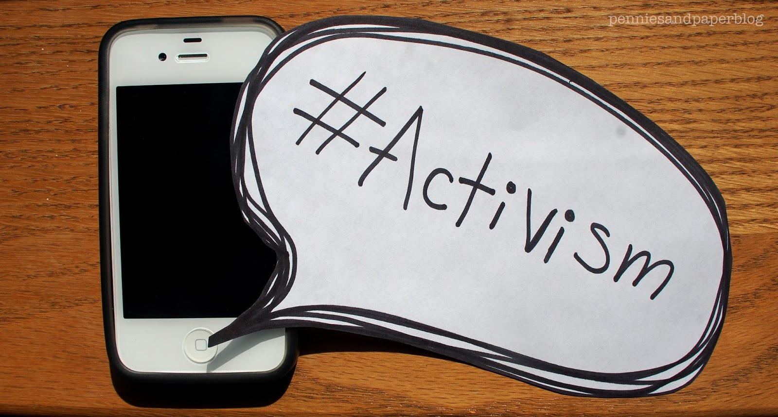 #Activism & Link Up the Love | Pennies & Paper Blog