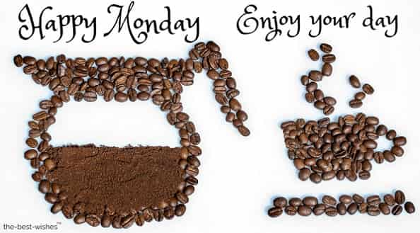 monday images with coffee beans