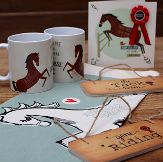 Horse Cards, Equestrian Gifts by Wotmalike