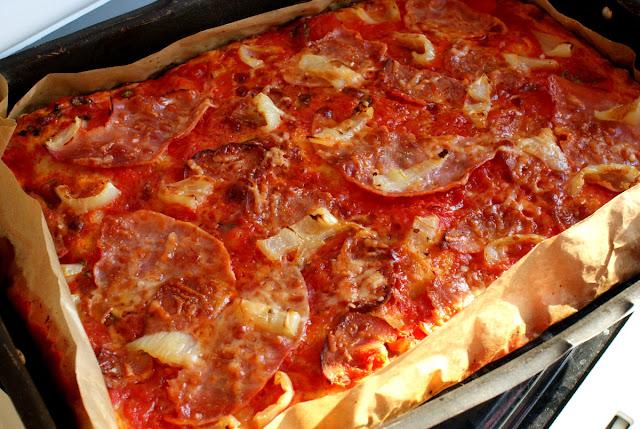 pizza,Sycylia, prosta pizza,szybka pizza,pizza która wyjdzie,ciastona pizzę,idealna pizza,