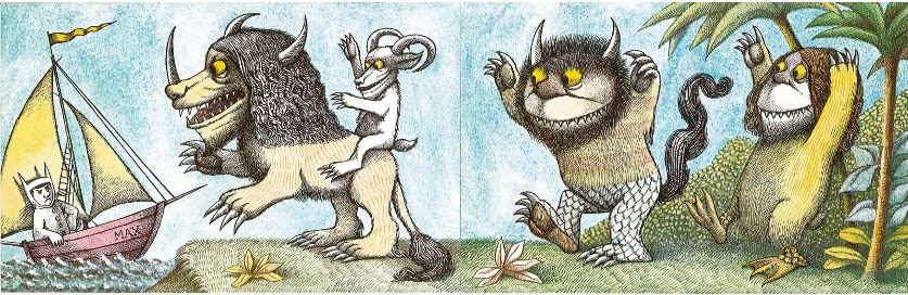 Cuentos Mágicos Donde Viven Los Monstruos Maurice Sendak