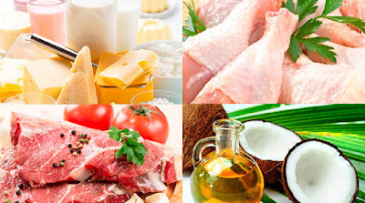 В каких продуктах есть насыщенные жиры