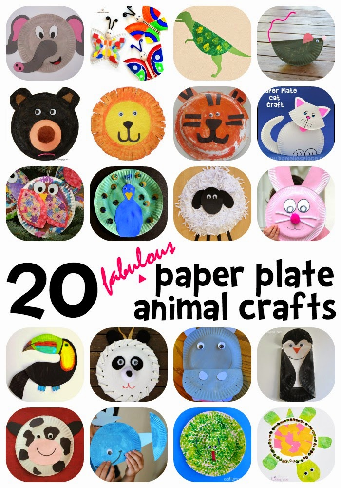 Learn With Play At Home 20 Fabulous Paper Plate Animal Crafts