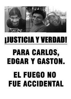 Justicia y Verdad para Carlos, Edgar y Gastón