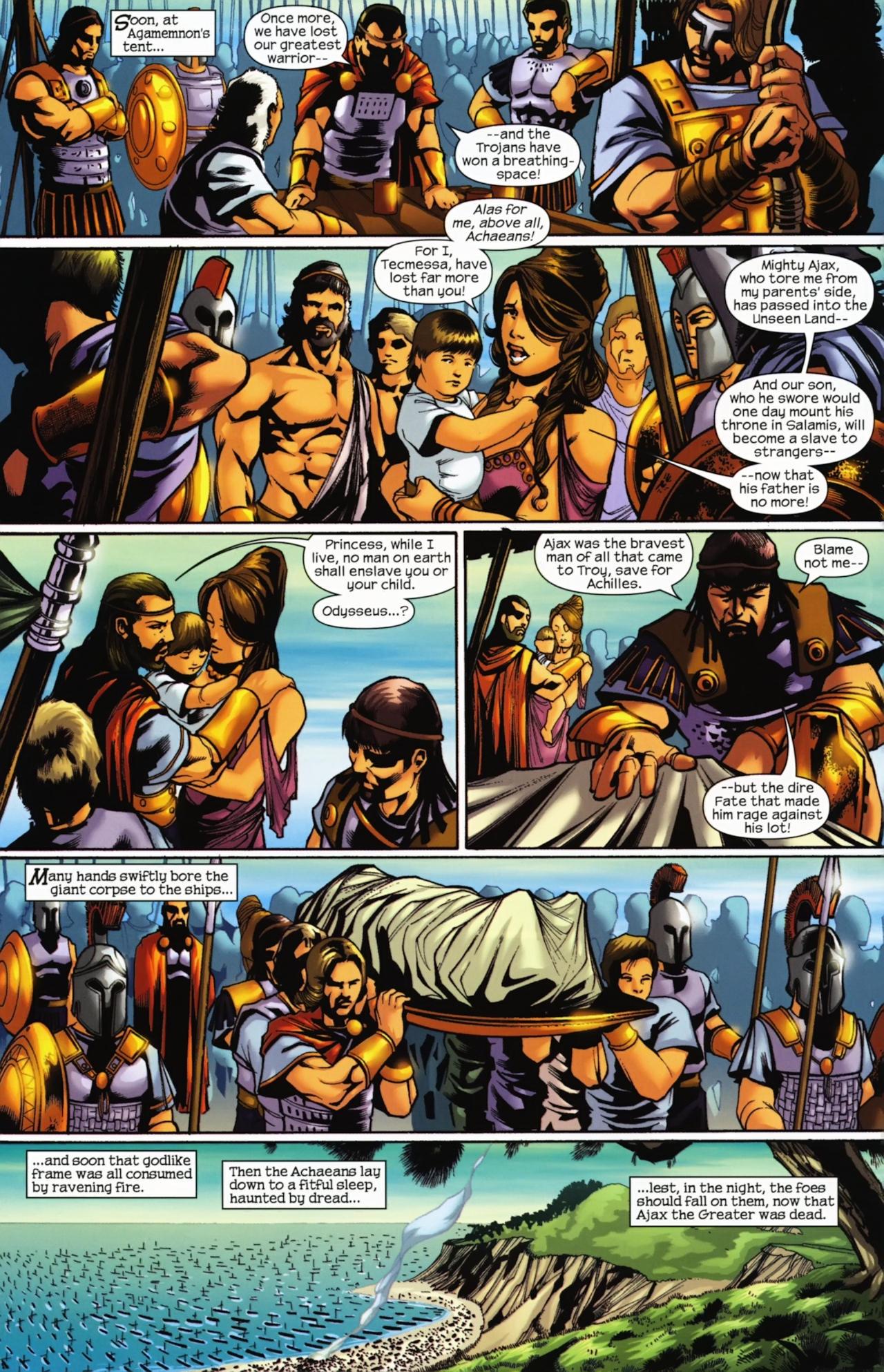 Read online Trojan War comic -  Issue #4 - 10