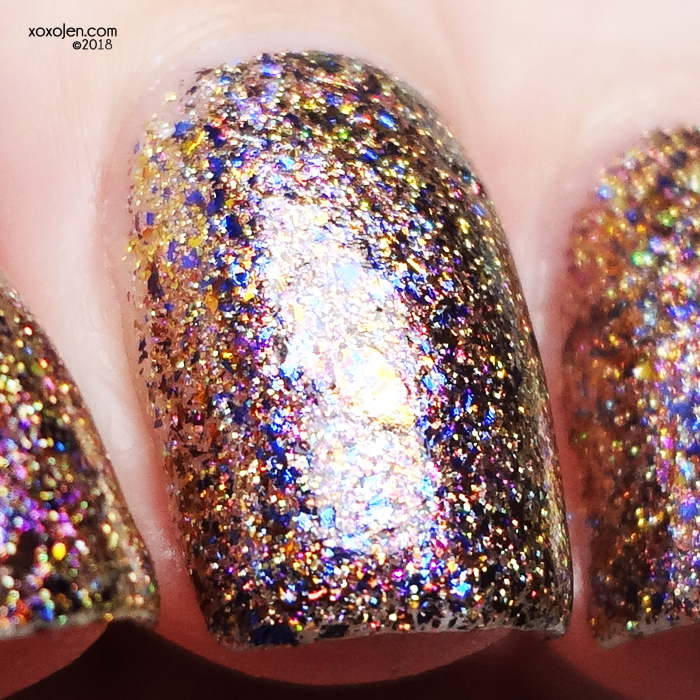 xoxoJen's swatch of Girly Bits Turning a New Leaf