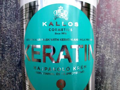 Maska do włosów Kallos Keratin