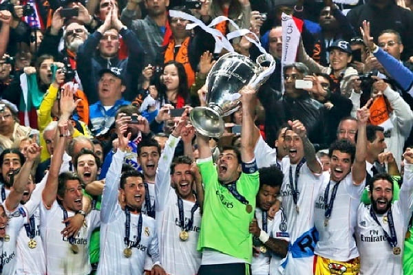 Real Madrid di Final Liga Champions 2017