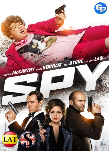 Spy: Una Espia Despistada (2015) HD 1080P LATINO/INGLES