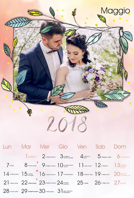Calendario Mensile per adulti 30x45