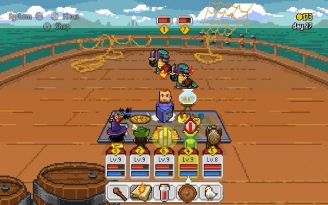 Jogo brasileiro Knights of Pen and Paper chega em maio aos consoles