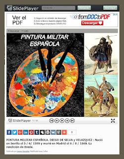 PINTURA MILITAR ESPAÑOLA-SLIDEPLAYER-VELAZQUEZ-PINTORES-PINTURAS-PINTOR-ERNEST DESCALS