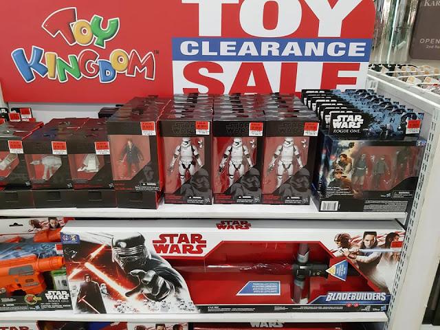Toy Kingdom Clearance Sale Star Wars