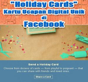 """Facebook Hadirkan Kartu Ucapan Digital Unik """"Holiday Cards"""", Begini Cara Menampilkan dan Membagikannya"""