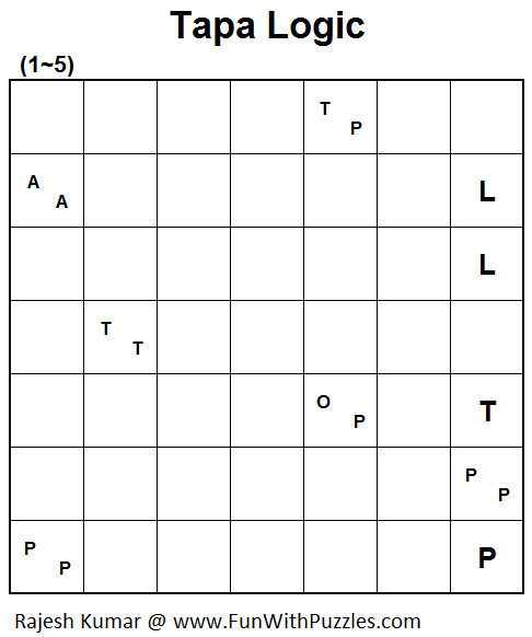 Tapa Logic (Mini Puzzles Series #38)