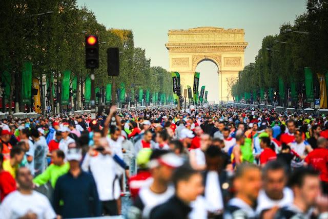 Maratona de Paris em abril