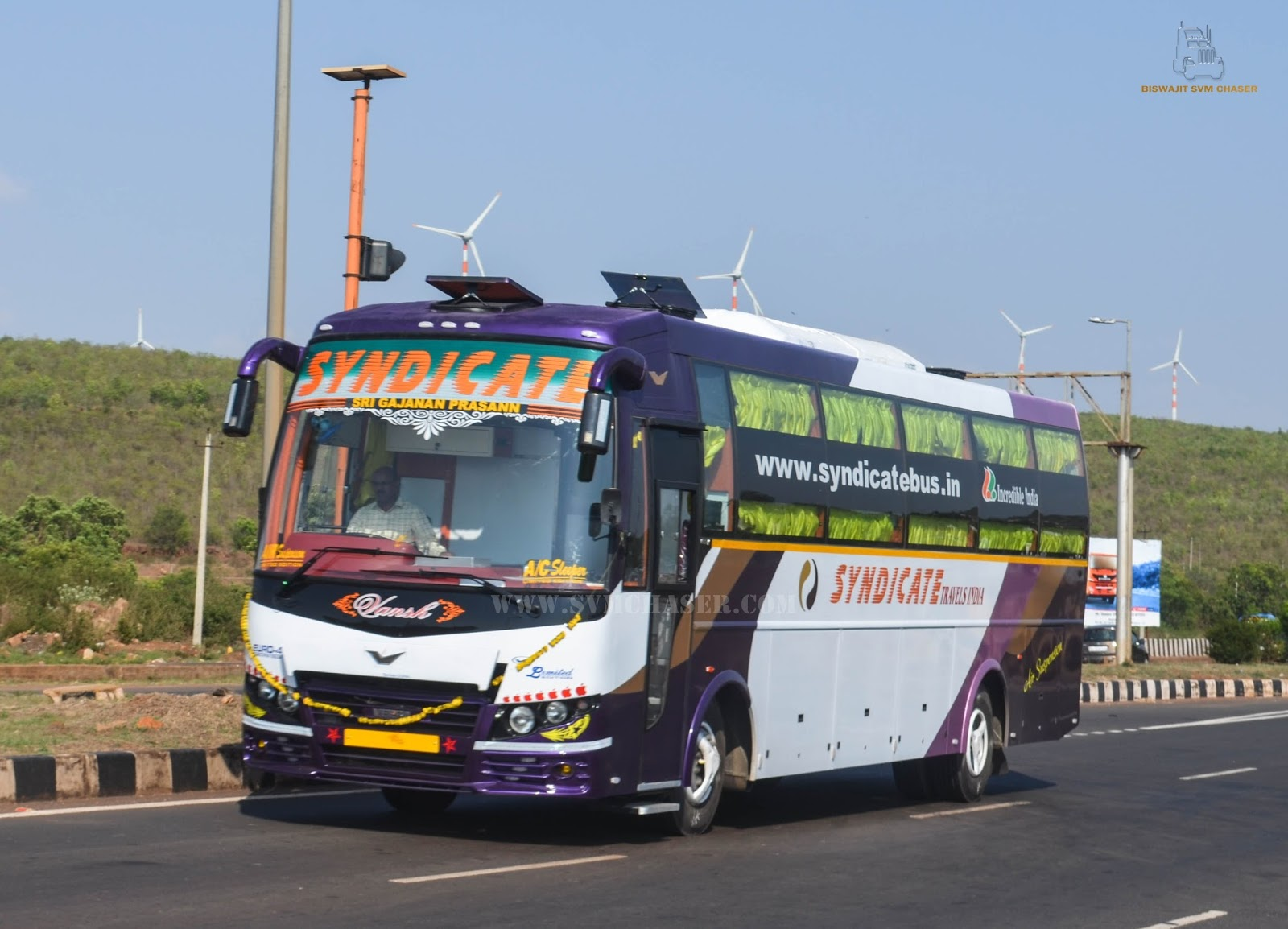 Syndicate Travels Al Ac Sleeper Biswajit Svm Chaser