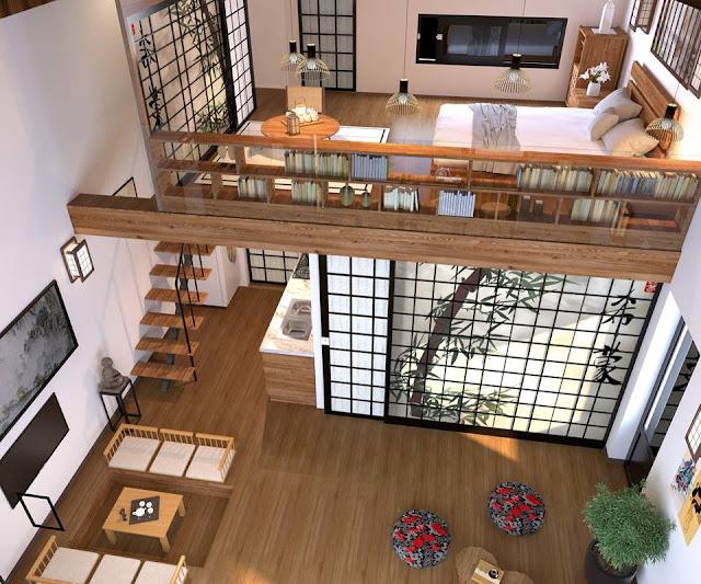 Phong cách kiến trúc đậm dấu ấn Nhật Bản