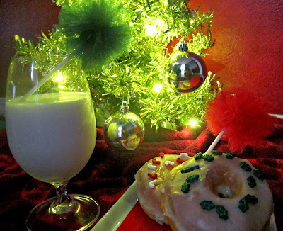 Christmas breakfast, Tulle poms, Fizzy Party