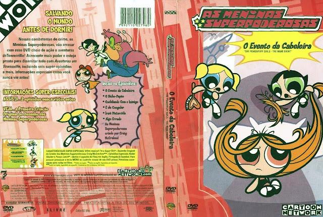 Capa DVD AS MENINAS SUPERPODEROSAS O Evento da Cabeleira