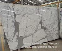 Marmer Putih Statuario Venato