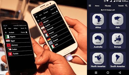 تطبيق عجيب ومنظم يشغل جميع قنوات قارات العالم مجانا على هاتفك وموجود في بلاي ستور