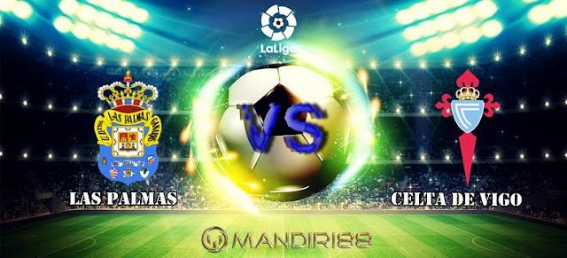 La Liga Spanyol akan mempertemukan dua tim papan bawah Berita Terhangat Prediksi Bola : Las Palmas Vs Celta Vigo , Selasa 17 Oktober 2017 Pukul 02.00 WIB