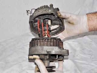 alternador-alternator Valeo 436193 separar carcasa bobina estator