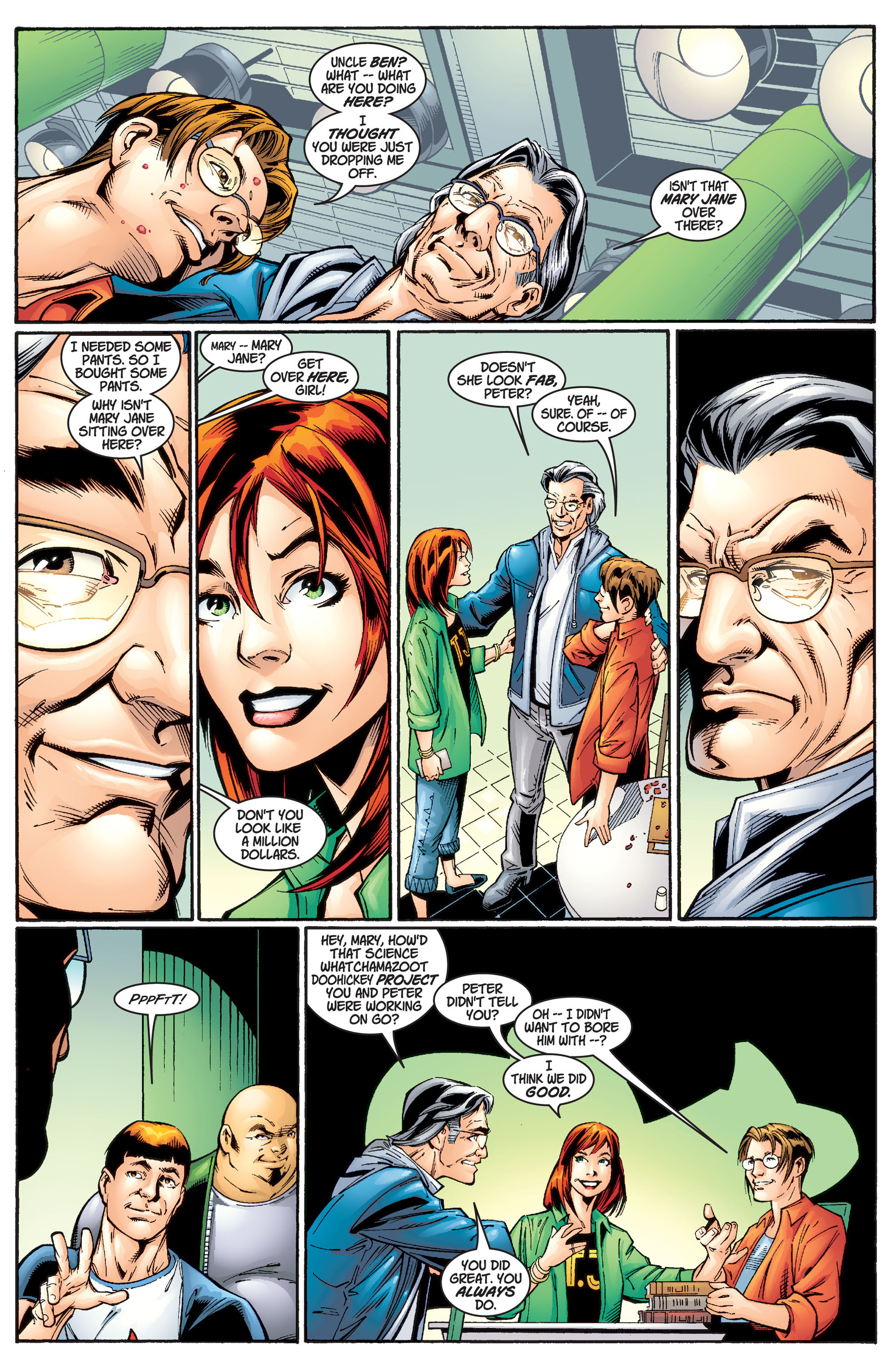 Read online Ultimate Spider-Man (2000) comic -  Issue #1 - 10