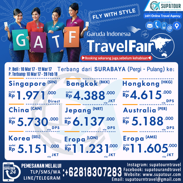 GARUDA TRAVEL FAIR 2017