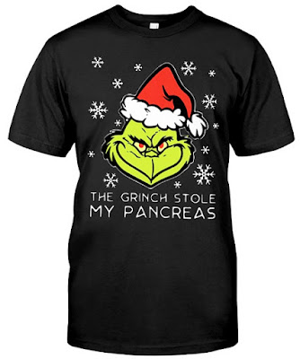 The Grinch Stole My Pancreas T Shirt Hoodie Sweatshirt Sweater. GET IT HERE