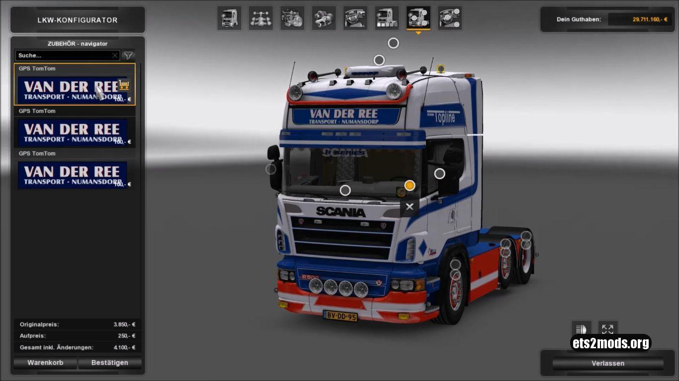 Truck - Scania R500 Van Der Ree