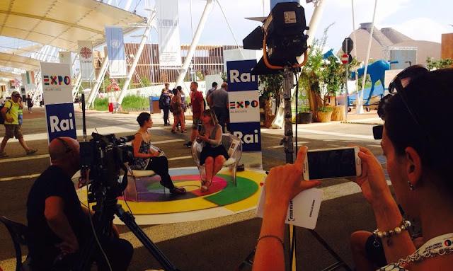 Foto di Alessandra Guigoni all'EXPO 2015