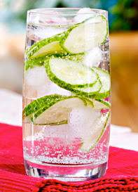 The Best way to Relax with-Cucumber Water