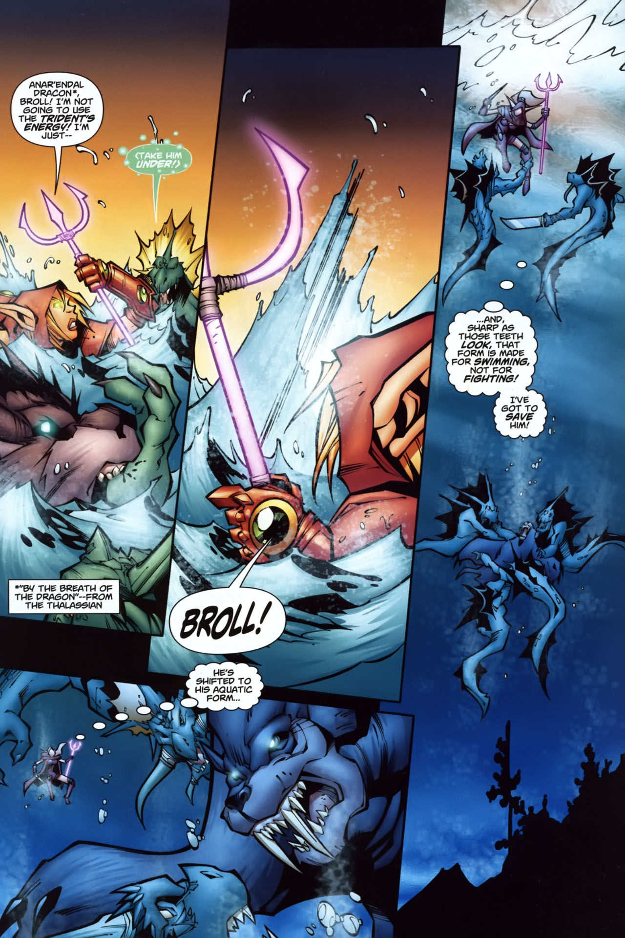 Read online World of Warcraft comic -  Issue #7 - 13