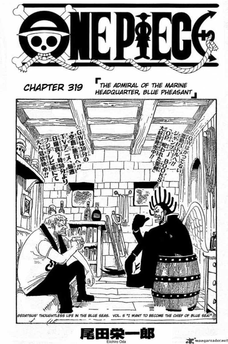 One Piece Ch 319