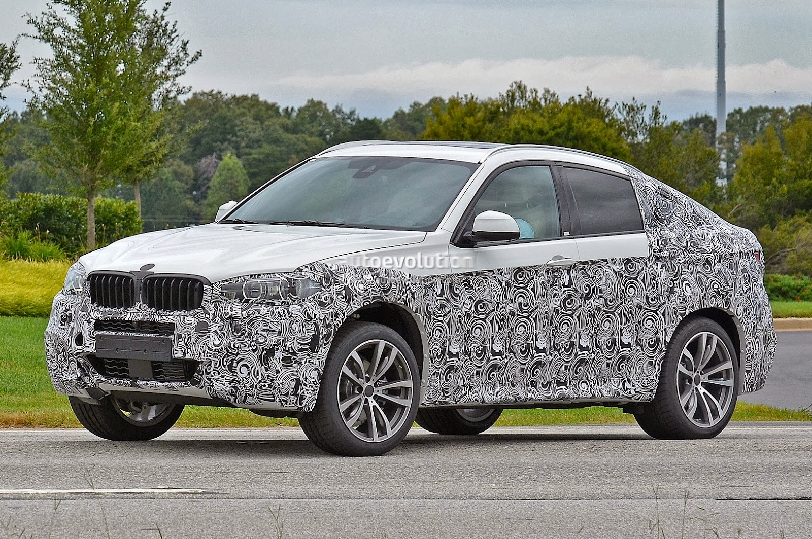 2015 F16 Bmw X6 First Spyshots Bmw Markham