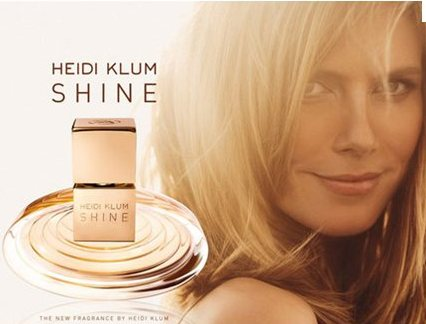 Shine by Heidi Klum Perfume promotional ad.jpeg