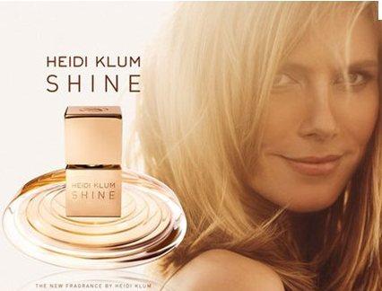 Shine by Heidi Klum Perfume promotional ad.jpeg