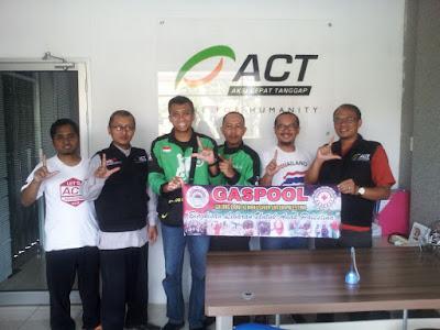 GASPOOL Salurkan Bantuan Palestina Melalui Aksi Cepat Tanggap (ACT) Lampung