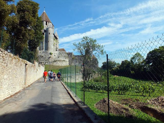 la torre césar de Provins, imprescindible