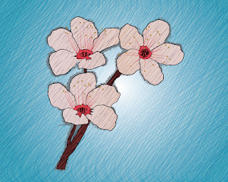 HOW TO DRAW A CherryBlossoms