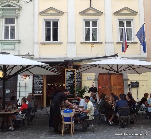 Restaurante Robba Ljubljana Eslovênia