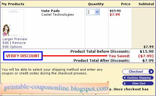 Vistaprint coupons code