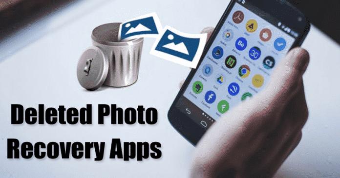 10 melhores aplicativos de recuperação de foto excluída, para Android
