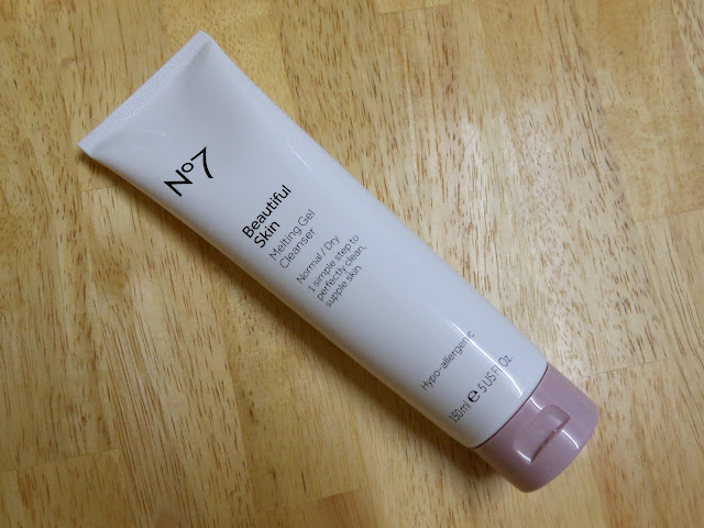 No7 Beautiful Skin Melting Gel Cleanser Blog Review