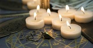 07 bougies blanche magique & mystique d'amour